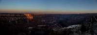 Dawn's First Kiss (Grand Canyon Pano)