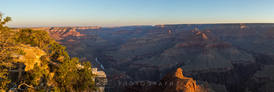 Mojave Point Sunrise (Grand Canyon Panorama)